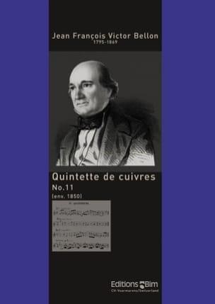 Jean François Victor Bellon - Quintette de Cuivres N° 11 - Partition - di-arezzo.fr