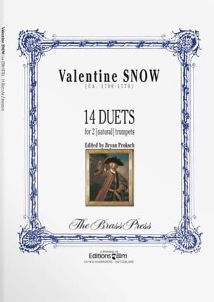 Valentine Snow - 14 Duets - Sheet Music - di-arezzo.com
