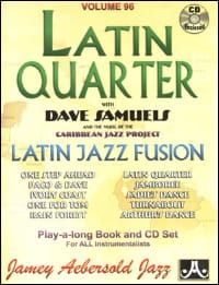 Samuels Dave / Aebersold Jamey - Volume 96 - Latin Quarter - Partition - di-arezzo.fr