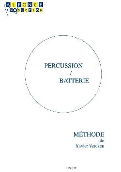 Percussion / Batterie Xavier Vercken Partition Batterie - laflutedepan