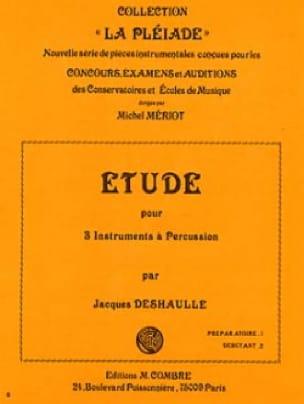 Jacques Deshaulle - Etude - Partition - di-arezzo.fr