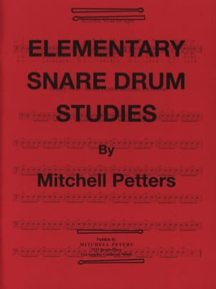 Mitchell Peters - Elementary Snare Drum Studies - Partition - di-arezzo.com