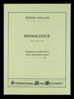 Jérôme Naulais - Monologue - Partition - di-arezzo.fr