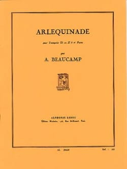Arlequinade Albert Beaucamp Partition Trompette - laflutedepan