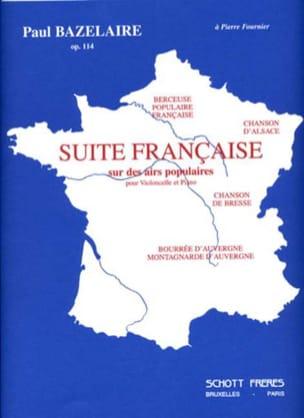 Suite Française Opus 114 Paul Bazelaire Partition laflutedepan