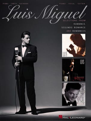 Luis Miguel - Selections from Romance, Segundo Romance, Romances - Sheet Music - di-arezzo.co.uk
