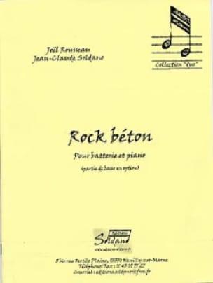 Rock Béton Rousseau Joel / Soldano Jean-Claude Partition laflutedepan