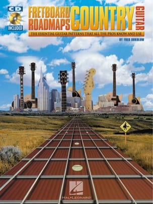 Fred Sokolow - Fretboard Roadmaps Country Guitar - Sheet Music - di-arezzo.co.uk