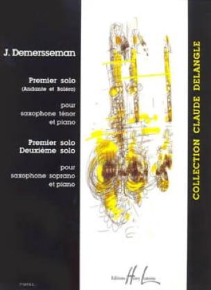 Jules Demersseman - Premier Solo / Deuxième Solo - Partition - di-arezzo.fr