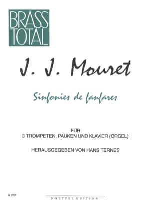 Jean-Joseph Mouret - Sinfonies de Fanfares - Partition - di-arezzo.fr