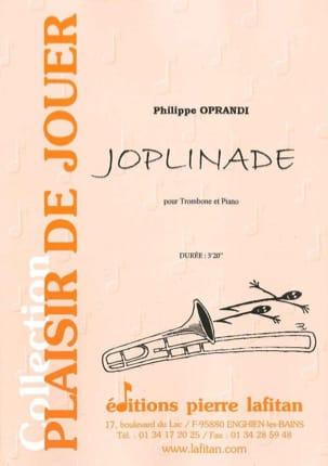 Philippe Oprandi - Joplinade - Sheet Music - di-arezzo.com