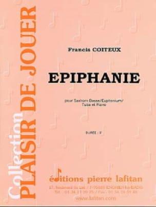 Epiphanie Francis Coiteux Partition Tuba - laflutedepan