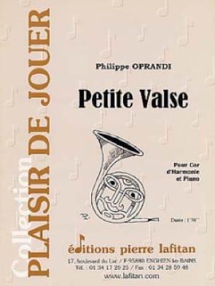 Philippe Oprandi - Petite Valse - Partition - di-arezzo.fr
