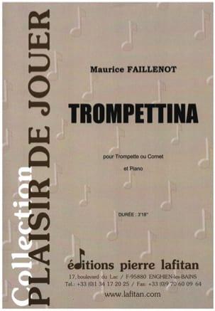 Trompettina - Maurice Faillenot - Partition - laflutedepan.com