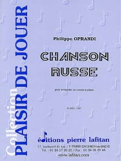 Philippe Oprandi - Russian Song - Sheet Music - di-arezzo.com