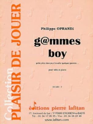 G@mmes Boy Philippe Oprandi Partition Tuba - laflutedepan