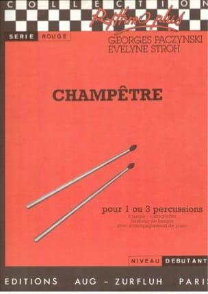 Paczynski Georges / Stroh Evelyne - Champêtre - Partition - di-arezzo.fr