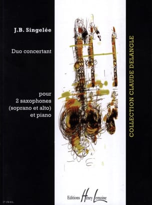 Jean-Baptiste Singelée - Concert Duo - Sheet Music - di-arezzo.co.uk