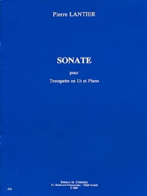 Pierre Lantier - Sonate - Partition - di-arezzo.fr