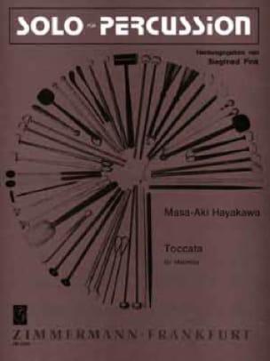 Masa-Hki Hayakawa - Toccata - Partition - di-arezzo.fr