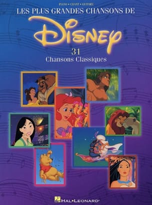 DISNEY - Les plus grandes chansons de Disney - Sheet Music - di-arezzo.com