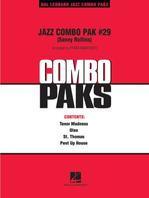Sonny Rollins - Jazz Combo Pak - Sheet Music - di-arezzo.co.uk