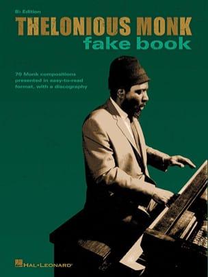 Thelonious Monk - Fake Book Bb - Partition - di-arezzo.com