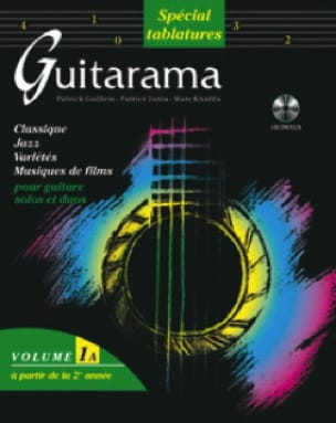 Guitarama Volume 1A Spécial Tablatures Partition laflutedepan