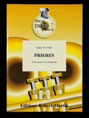 Prières André Telman Partition Trompette - laflutedepan