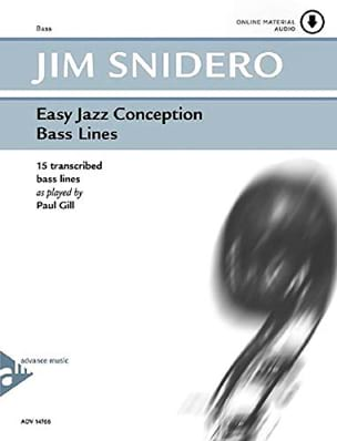 Easy Jazz Conception - Bass Lines - Jim Snidero - laflutedepan.com