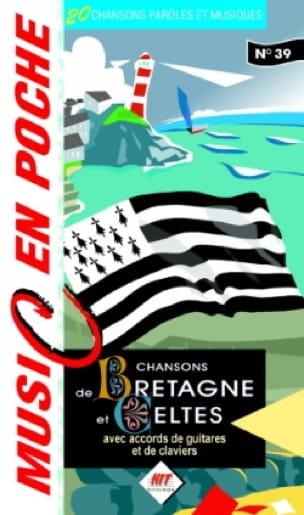 - Music en poche N° 39 - Chansons de Bretagne - Partition - di-arezzo.fr