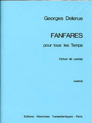 Georges Delerue - Fanfares For All Time - Sheet Music - di-arezzo.com