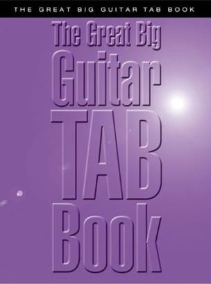 - The Big Big Guitar Tab Book - Sheet Music - di-arezzo.com