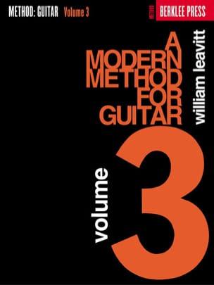 William Leavitt G. - A Modern Method For Guitar Volume 3 - Sheet Music - di-arezzo.co.uk