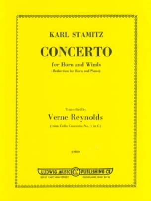 Karl Stamitz - Concerto - Partition - di-arezzo.fr