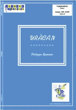Philippe Spiesser - Uracan - Sheet Music - di-arezzo.co.uk