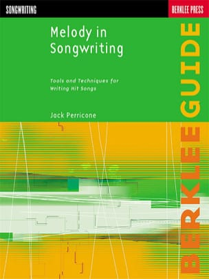 Jack Perricone - Melody In Songwriting - Sheet Music - di-arezzo.co.uk