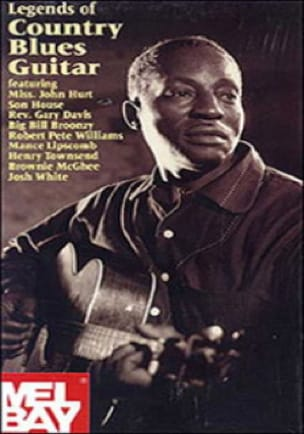 DVD - Legends Of Country Blues Guitar Volume 1 - laflutedepan.com
