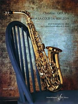 Christian Goupy - At the Court of King Leon - Sheet Music - di-arezzo.com