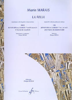Marin Marais - La Folia - Sheet Music - di-arezzo.co.uk