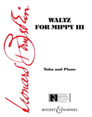 Leonard Bernstein - Waltz For Mippy 3 - Partition - di-arezzo.fr