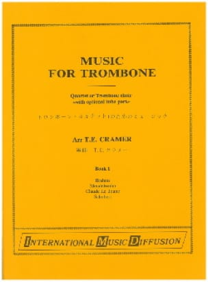 Music For Trombone Volume 1 Partition Trombone - laflutedepan