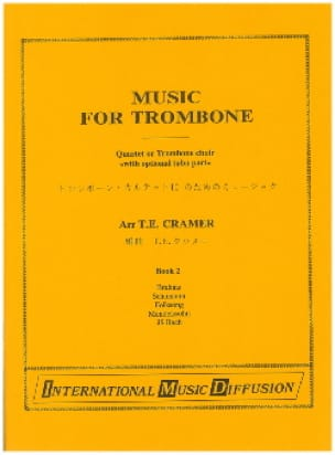 Music For Trombone Volume 2 Partition Trombone - laflutedepan