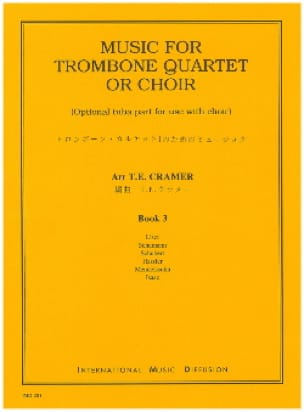 - Music For Trombone Volume 3 - Partition - di-arezzo.fr