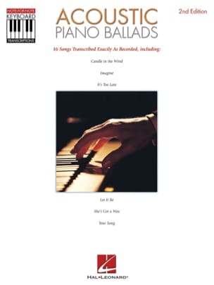 Accoustic Piano Ballads (Recorded Versions) - laflutedepan.com