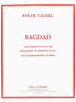 Roger Calmel - Bagdad - Partition - di-arezzo.fr