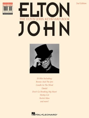 Elton John - The Elton John keyboard book (recorded version) - Partition - di-arezzo.fr