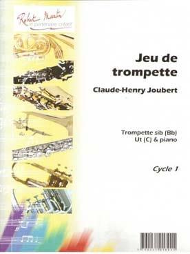 Jeu de Trompette - Claude-Henry Joubert - Partition - laflutedepan.com