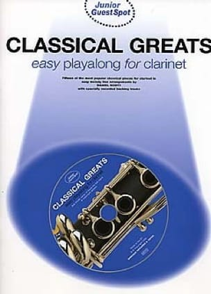 Guest Spot Junior - Classical Greats Easy Playalong - laflutedepan.com