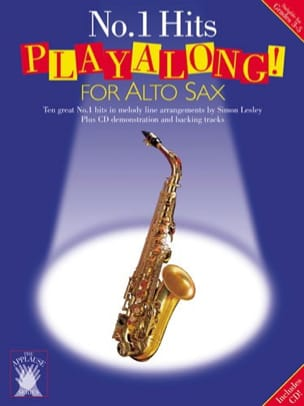 - N° 1 Hits Playalong For Alto Sax - Partition - di-arezzo.fr